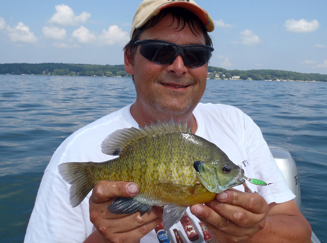 Fishing-Headquarters com :: The Bluegill Spoon Connection
