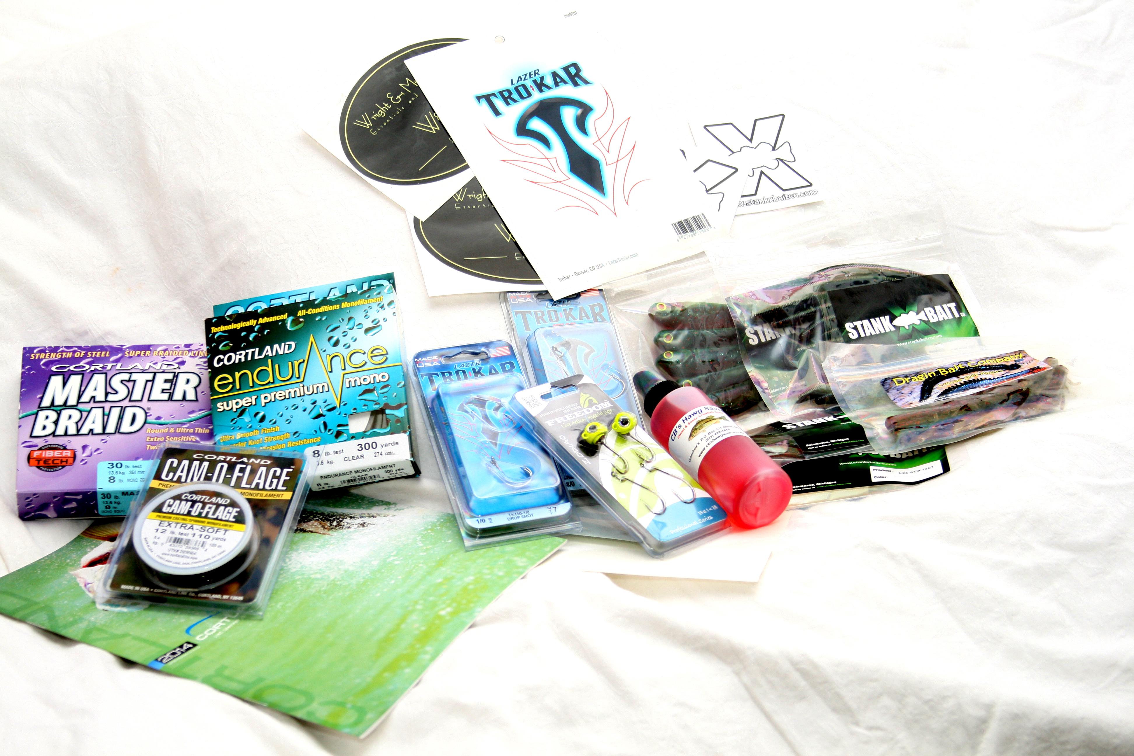 Fishing christmas giveaway 2013 for Free fishing tackle giveaway