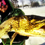 Catching Late Ice Canadian Pike
