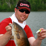 Surface Smallmouth with Rapala's X-Rap Pop