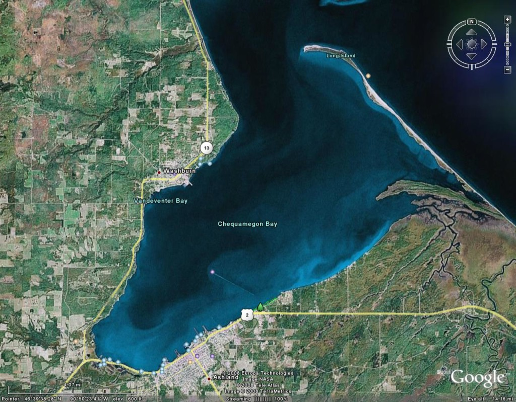 Chequamegon-Bay-Arial-Map