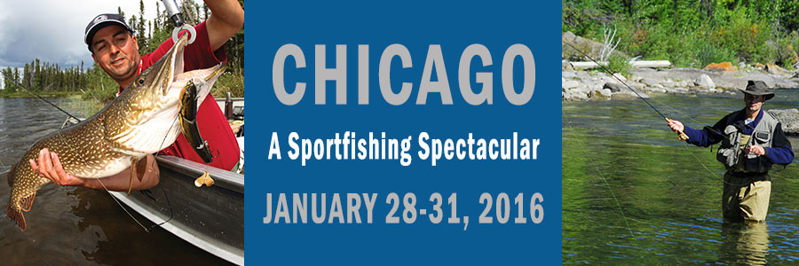 The sportfishing spectacular returns to schaumburg il for Chicago fishing show