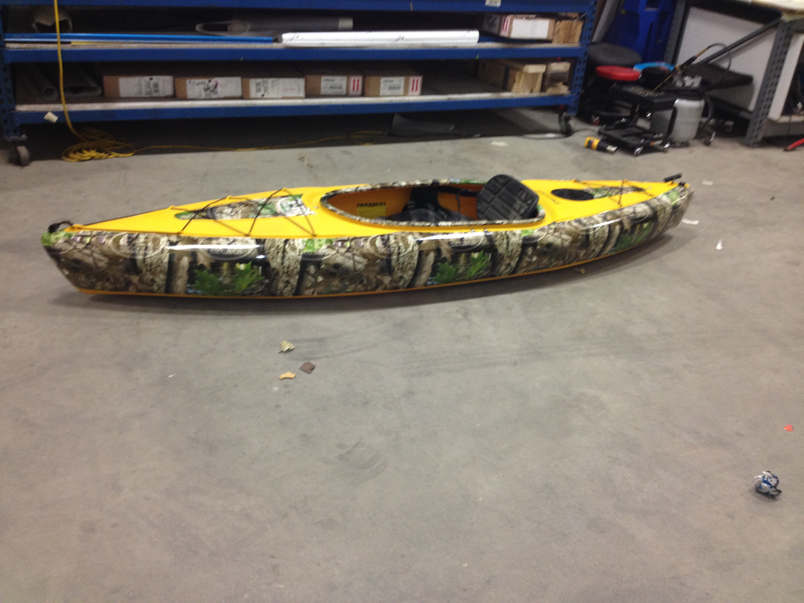F Amp H Decals Introduces Kayak Wraps To The Masses